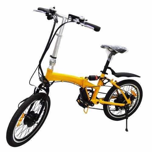 Bicicleta Electrica Plegable 20 Pulgadas 250w Bateria Oculta