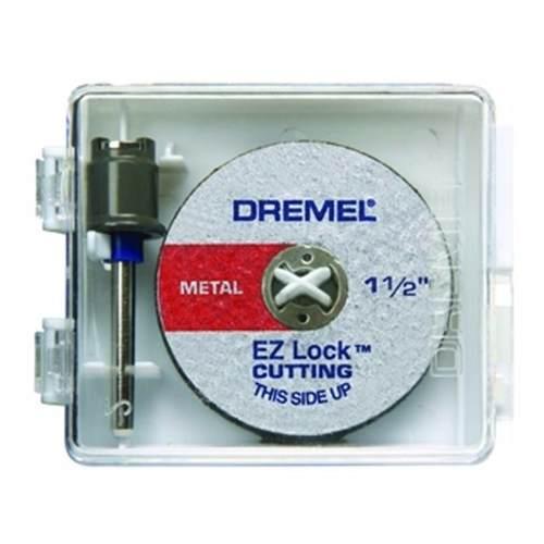 Dremel Accesorio Kit Discos Ez-406 Cortar Mandril 5 Piezas