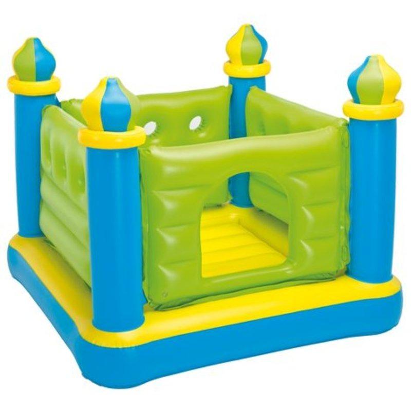 Brincolin Castillo Inflable Jump-o-lene Verde 48257np Intex