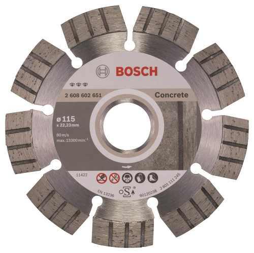Disco Diam. Best Concreto Segmentado 4 1/2  Bosch