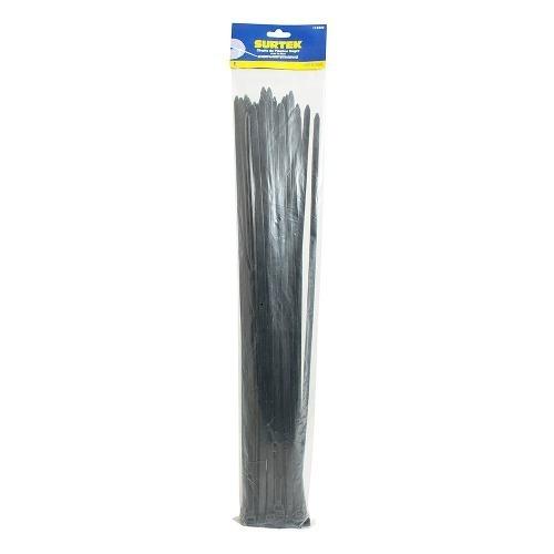 Cincho Plástico 368 X 4.6mm 25 Piezas Negro 114215 Surtek