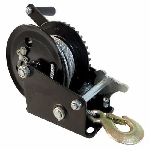 Malacate Winch Negro 800 Lbs Y Cable 10m 0,36 T B