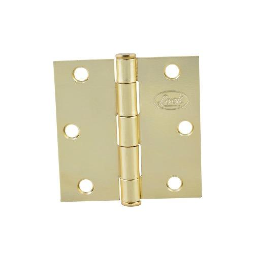 Bisagra Cuadrada Latón Brillante 2x2 Lbc20lb Lock
