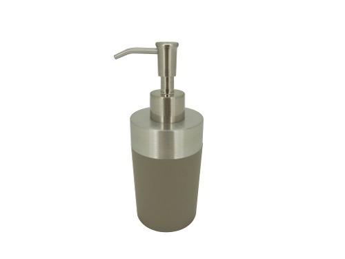 Dispensador Acero Mate Con Pvc Gris Ba-433491 Namaro Design