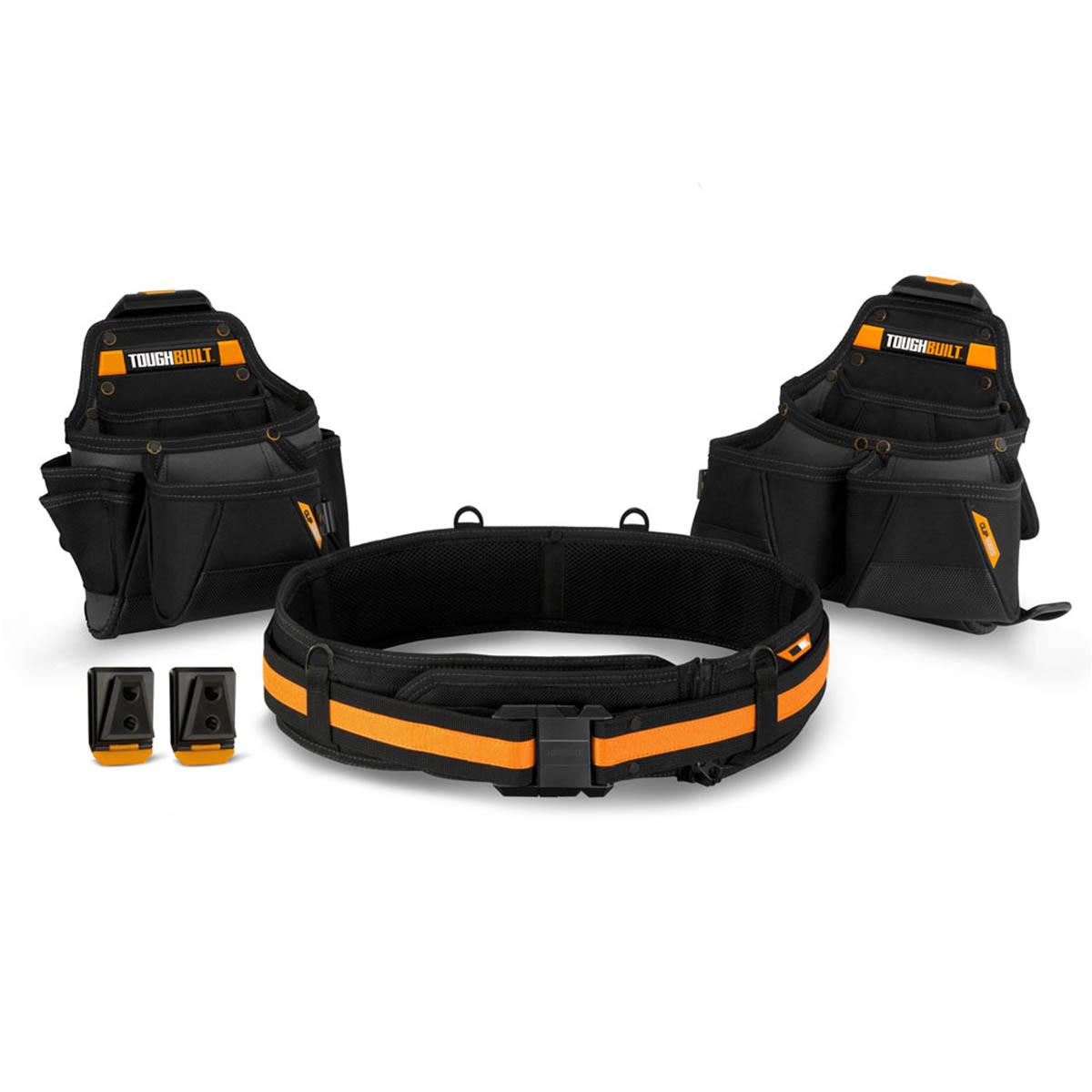 Bolsas Porta Herramientas 27 Bolsillos + Cinturon Toughbuilt