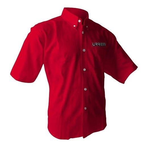 Camisa Roja Manga Corta Talla M Camc201m Urrea