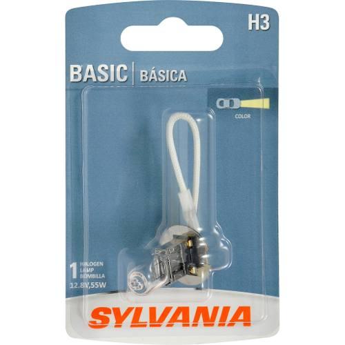 Foco De Niebla Sylvania H3 Basic Halogeno Paquete De 1 Pza