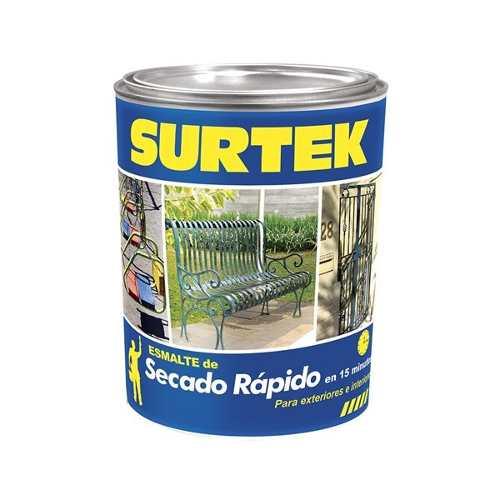 Esmalte De Secado Rápido Blanco 1lt Sp40200 Surtek
