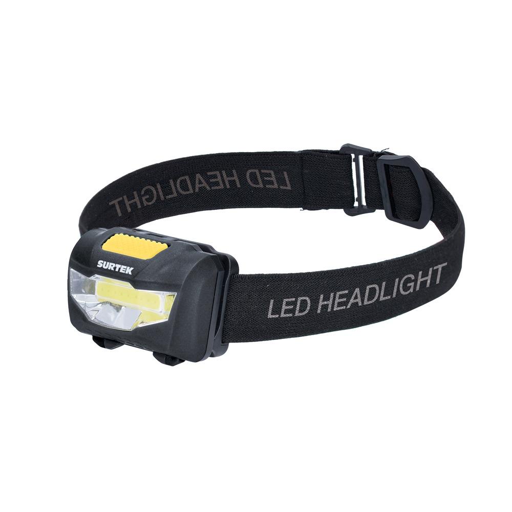 Linterna Para Cabeza A Baterías 120 Lm Surtek
