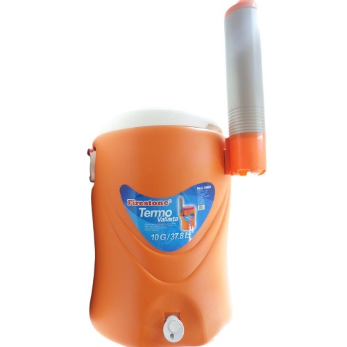 Termo 10 Ga Liquidos Agua Fria Caliente Portavasos Firestone