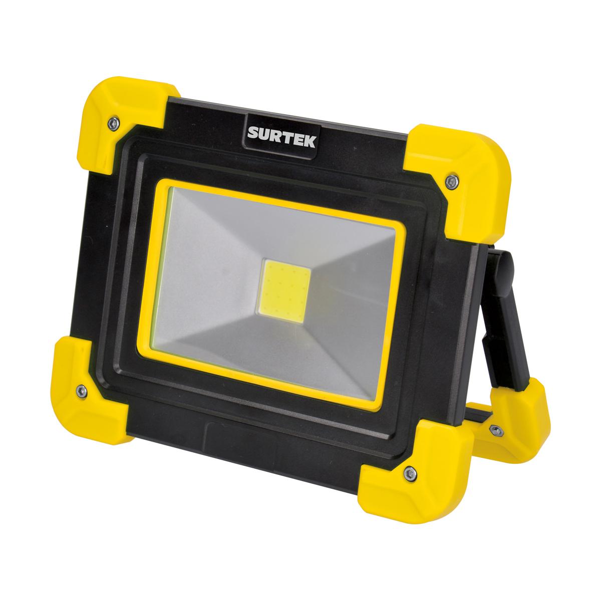 Reflector Led 3 Tipos Luz Recargable Micro Usb 300 Lm Surtek