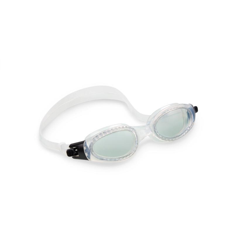 Goggles Profesionales Deportes Acuaticos Blanco Adulto Intex