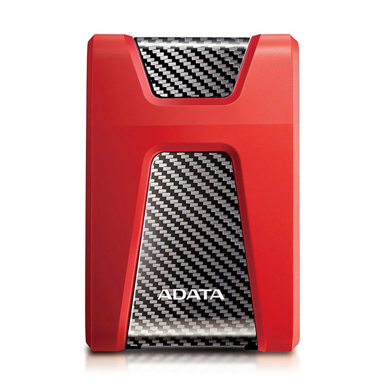 DP 2TB HD650 GOMA ROJO USB 3.1