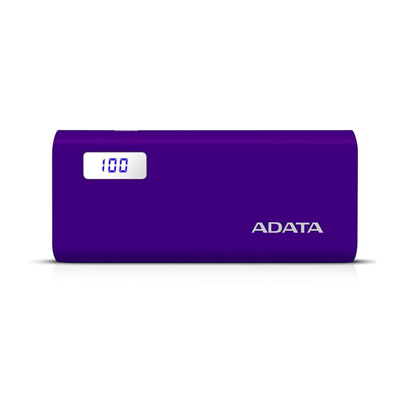 12500MAH DOBLE  USB MORADO Y D