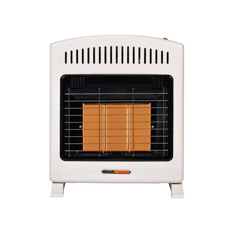 Calentador De Pared Infrarojo 3 Radiantes Lp/nat Heat Wave