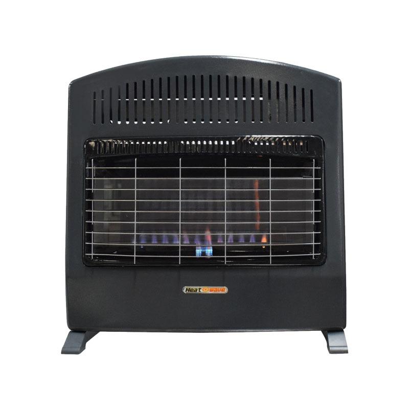 Calefactor De Pared Flama Azul 30,000 Btu Gas Heat Wave