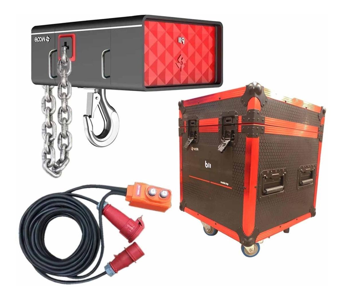 Polipasto Electrico Contra Agua 1t Control De Mano 2 Cables