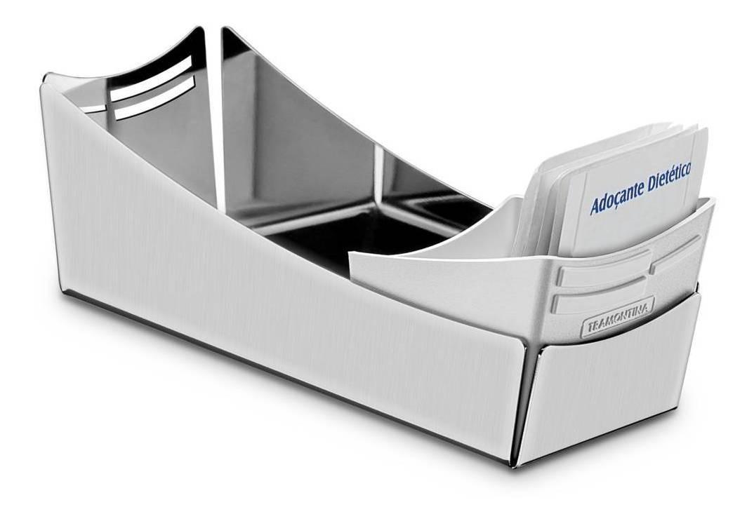 Porta Sachet Con Soporte Para Cucharas Plastico Tramontina