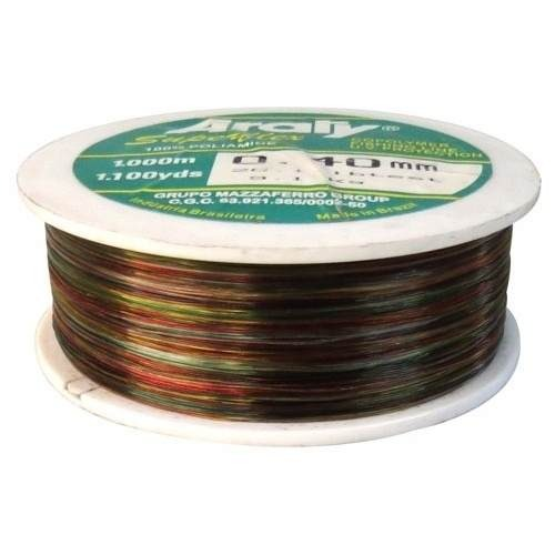 Hilo Nylon Multicolor 500g 1200m Y,70mm 500x,70 Araty