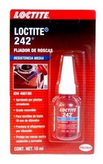 Pegamento Fijador Media Resistenc Azul 10 Ml Lp24221 Loctite