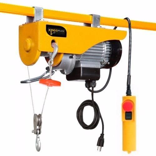 Polipasto Electrico 200-400kg 20 Metros Con Soporte De Carga