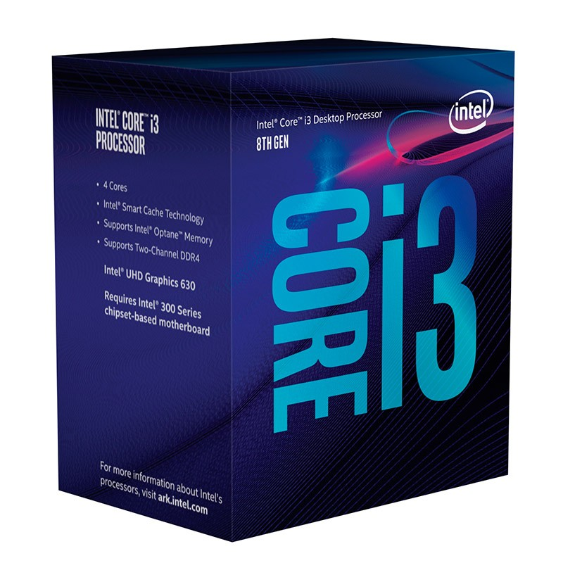 Procesador Intel Core i3 8100