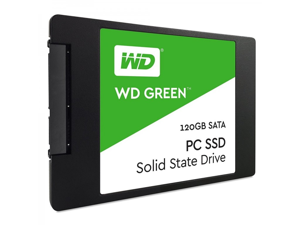 Unidad de Estado Sólido SSD Western Digital 120Gb Green