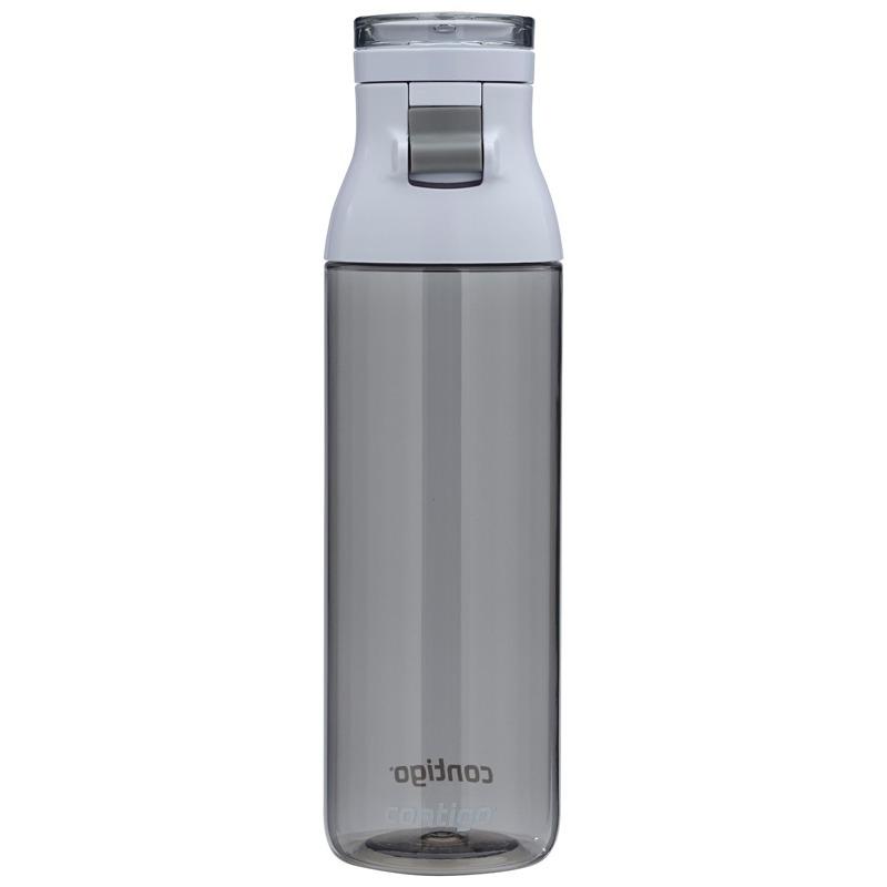 Botella De Agua Plastico Jackson Gris Humo 710 Ml Contigo