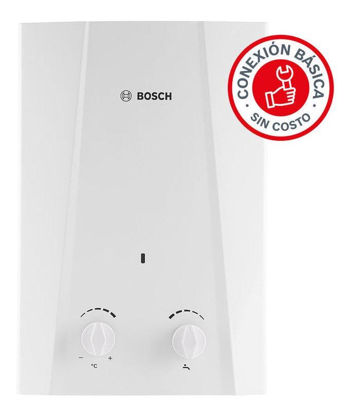 Calentador De Agua Instantaneo 1 Servicio Eco 6 Gas Bosch
