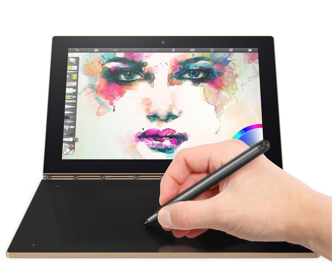 Laptop 2 en 1 Lenovo Yoga Book Android 6 Gold