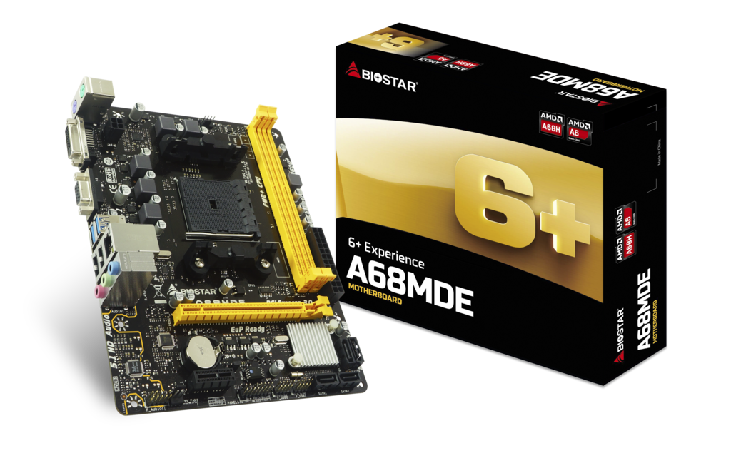 MOTHER BOARD BIOSTAR A68MDE