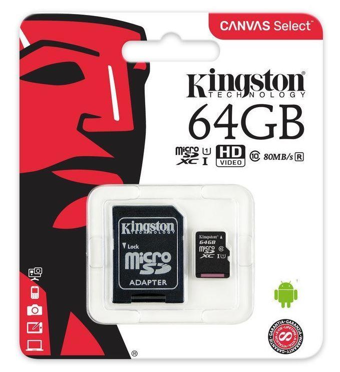 MICRO SDXC 64GB C10