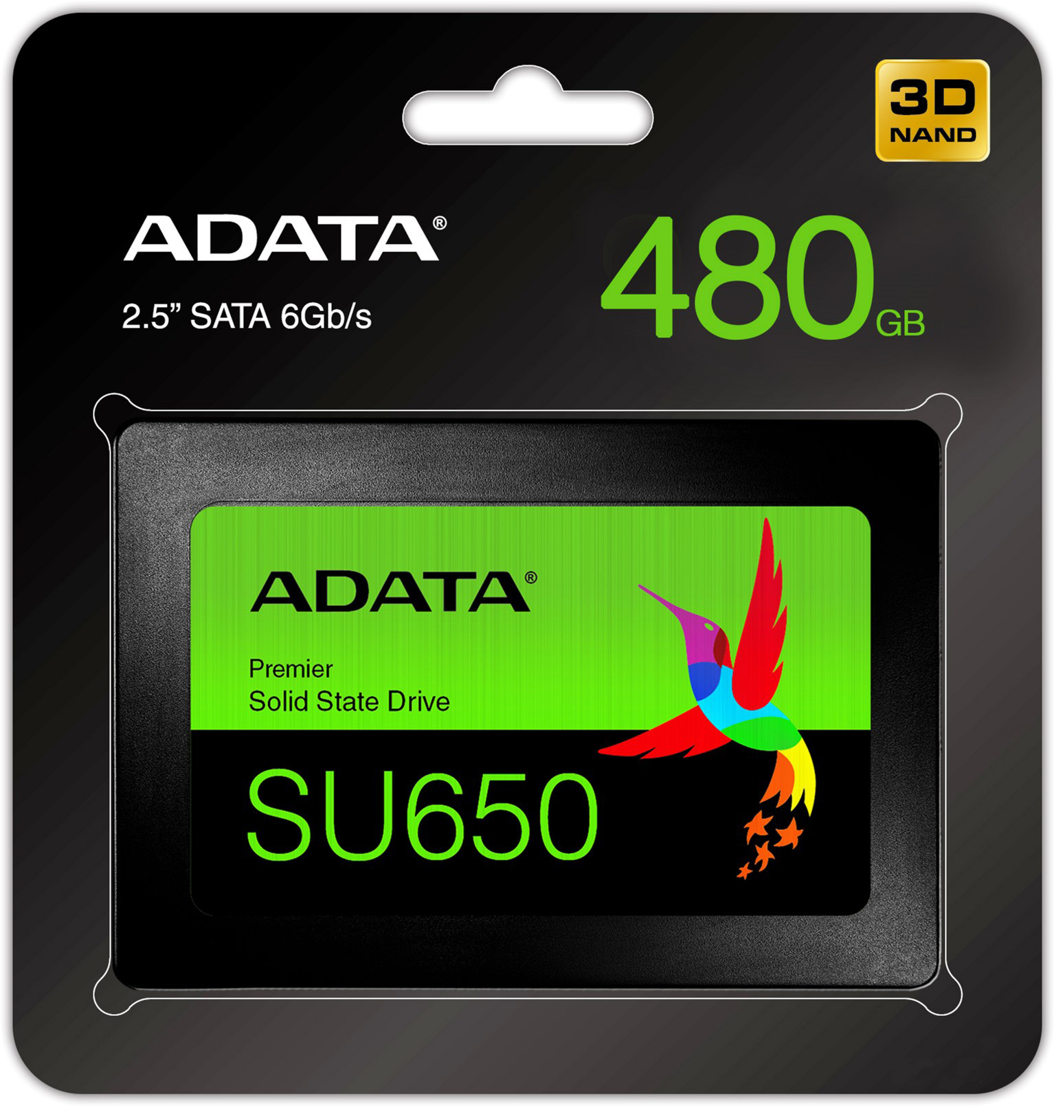Disco solido Adata de 480GB