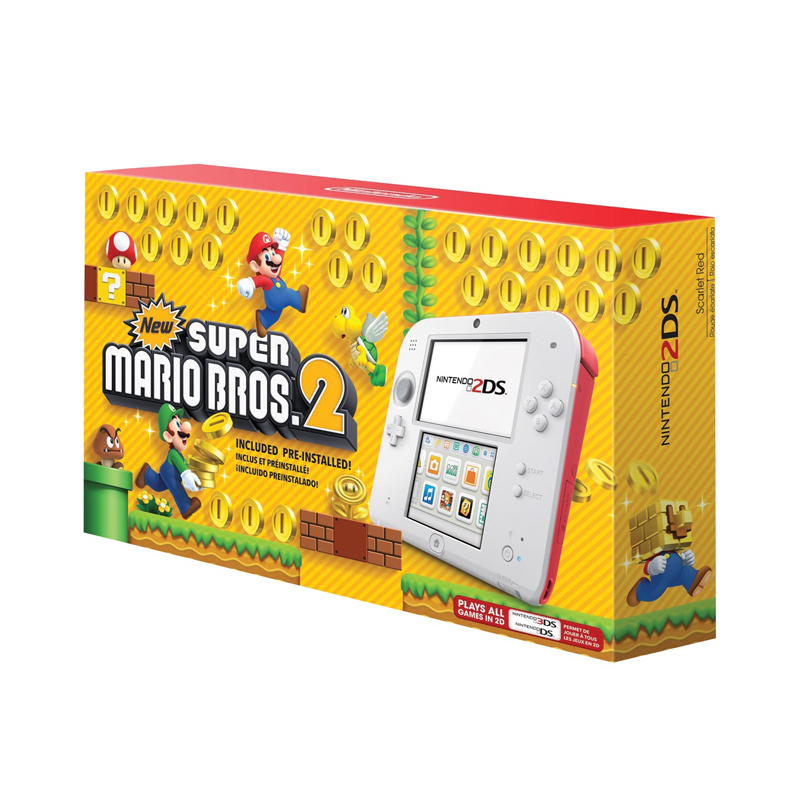 Consola Nintendo 2DS Edicion New Super Mario Bros 2
