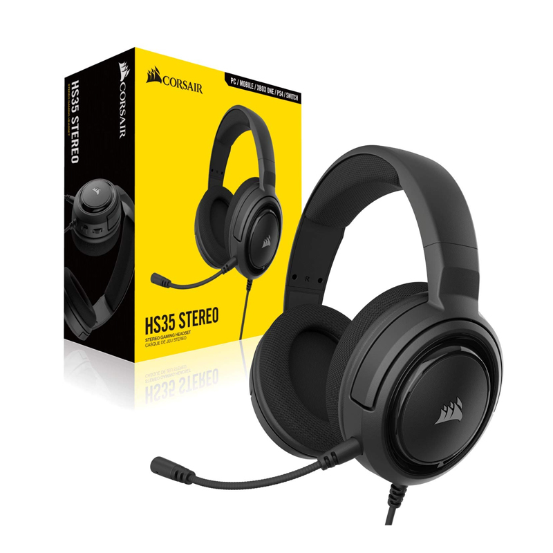 Gaming Headset Corsair HS35 Stereo CARBON