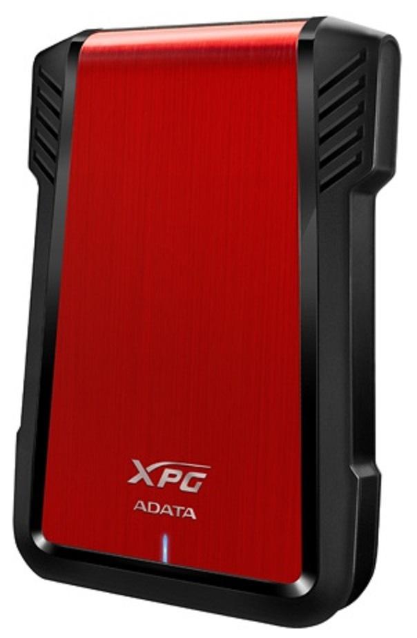 """Case para Disco Duro 2.5"""" SATA USB 3.0 EX500 Rojo"""