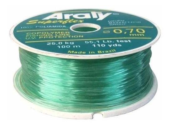 Hilo Nylon Verde 1 000 M Y ,70 Mm 1 000x,70 Araty