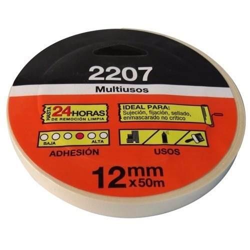 Cinta Masking 2207 12 Mm Y 50 Metros 2207e12x50 3m