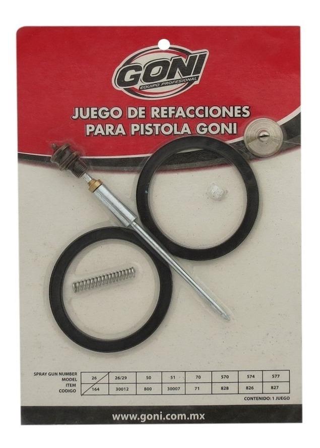 Juego De Refacciones Para Pistola Mod. 26  Y  29 164 Goni