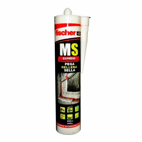 Silicon De Uso General Blanco 280 Ml 618608 Fischer