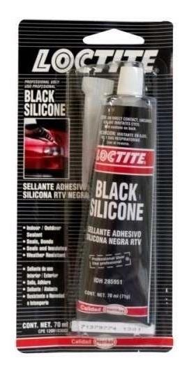 Silicon Alta Temperatura Negro 70 Ml 34203 Loctite