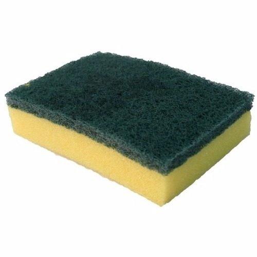 Fibra Verdecon Esponja Amarillo 12 X 8 Cm P94 3m