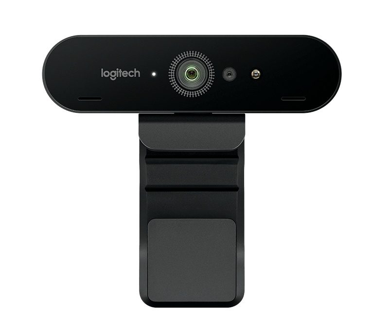 Brio 4k Ultra HD Webcam Logitech - Cámara Web