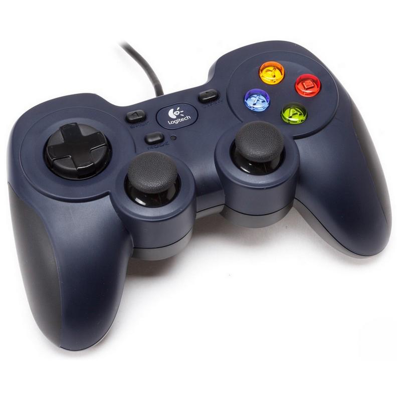 Gamepad Logitech - Mando De Videojuegos - 10 Botones