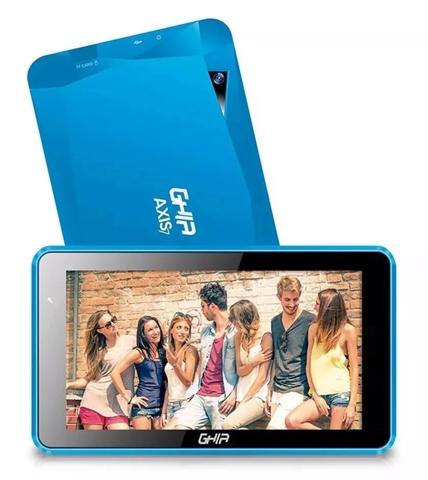 Tablet Ghia Axis7 Wifi T7718A Android 7 8Gb Azul