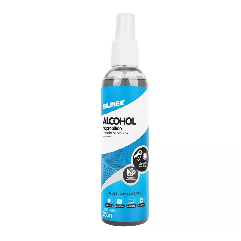 Alcohol Isopropilico 250 Ml En Spray