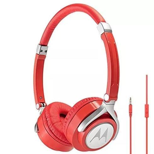 Audifonos Tipo Diadema Motorola Pulse 2 Rojo
