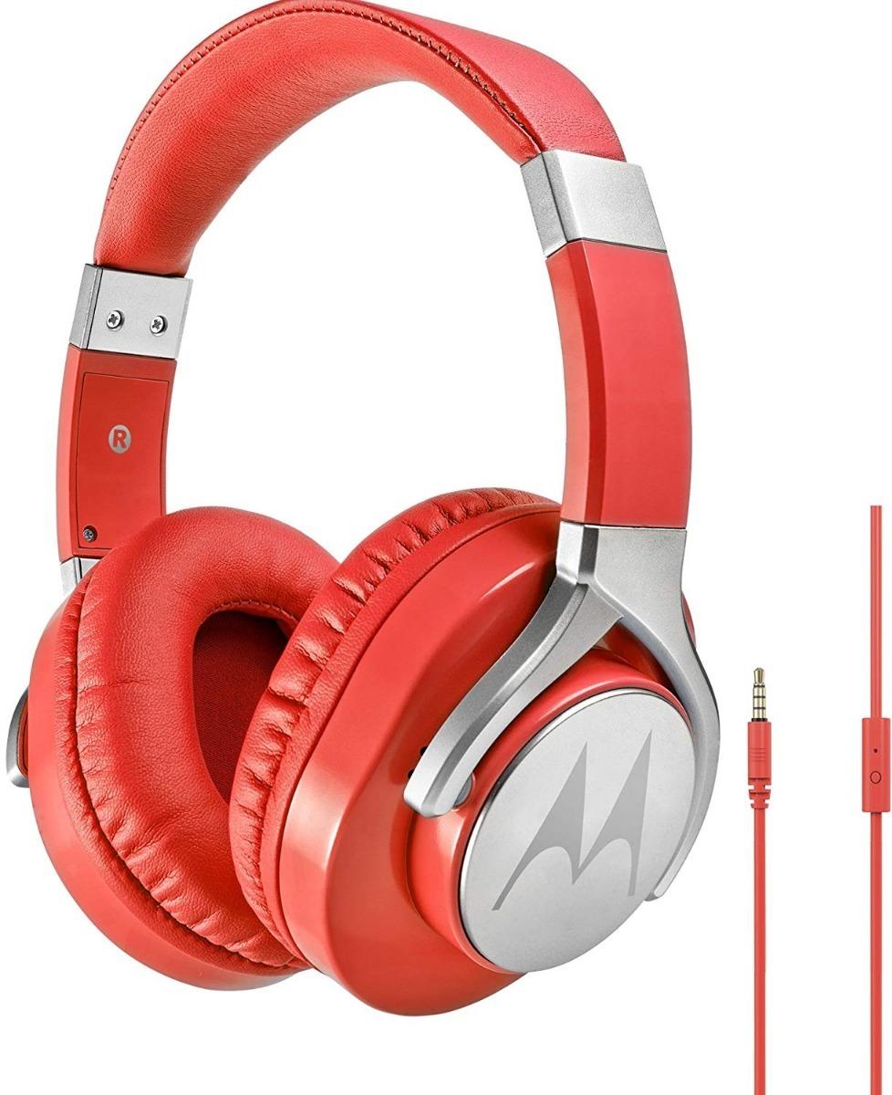 Audifonos Tipo Diadema  Motorola Pulse Max Rojo