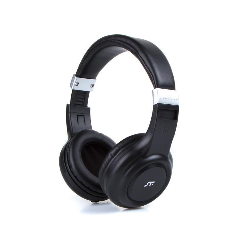 Audifono Sonic Bluetooth Con Mic Black St-H86546