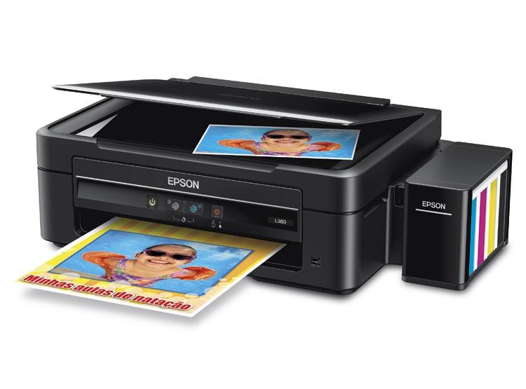 Impresora Multifuncional Epson L380 Ecotank Tinta Continua Usb